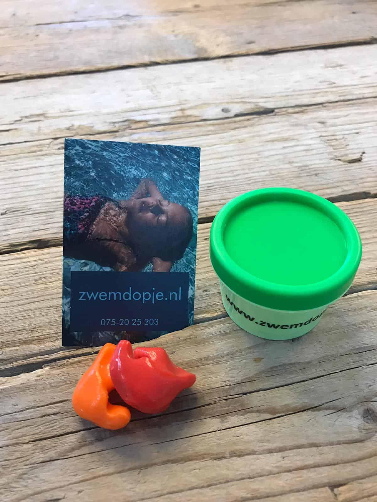 gekleurde zwemdoppen van zwemdopje.nl