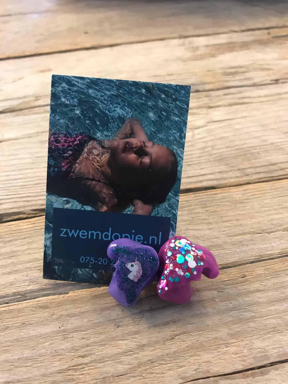 kinder zwemdop op maat van zwemdopje.nl